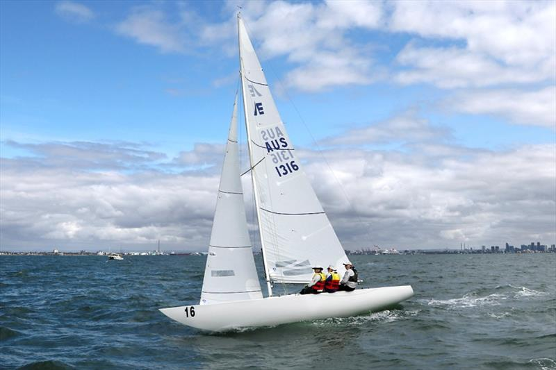 The Good, The Bad, and The Ugly – kind of sums up the weather… - 2020 Etchells Australian Championship, final day - photo © John Curnow