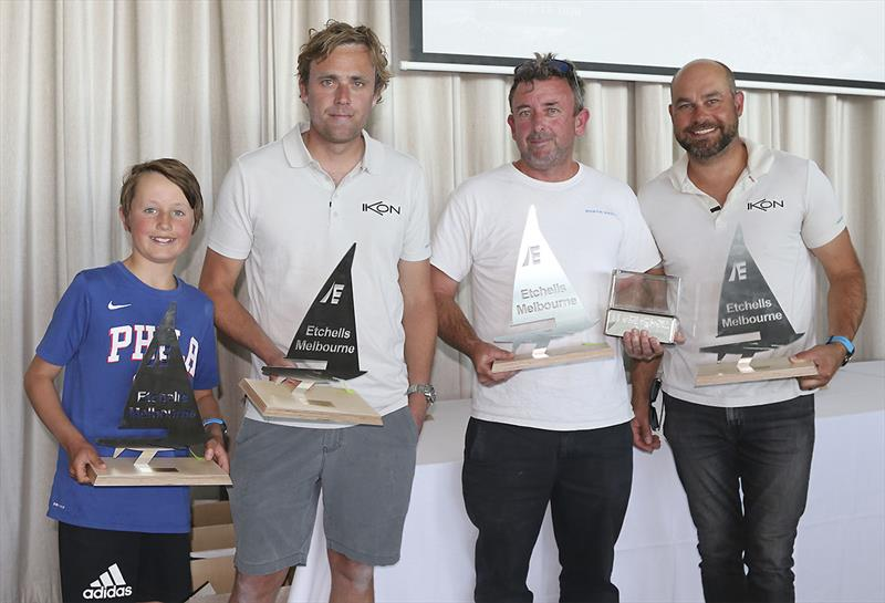 Corinthian winners - Triad - representing Hobsons Bay Yacht Club - photo © John Curnow