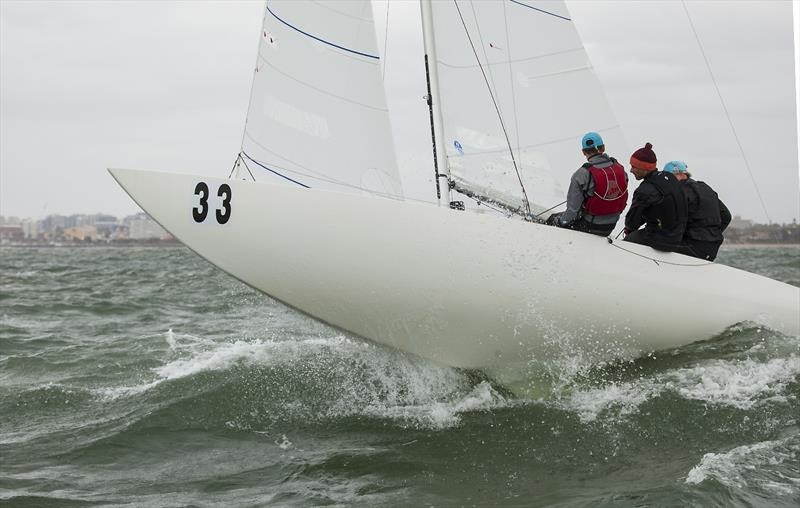 Forte out racing on a choppy Port Phillip in Melbourne. - photo © John Curnow