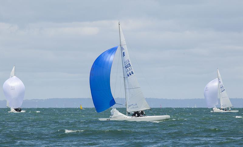 Fumanchu powering along on a way to a race win in the 2020 Australian Championship. - photo © John Curnow