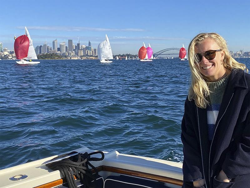 2021 Olympian Tess Lloyd, skippers Australia's 49er FX skiff crew. - photo © Photo supplied