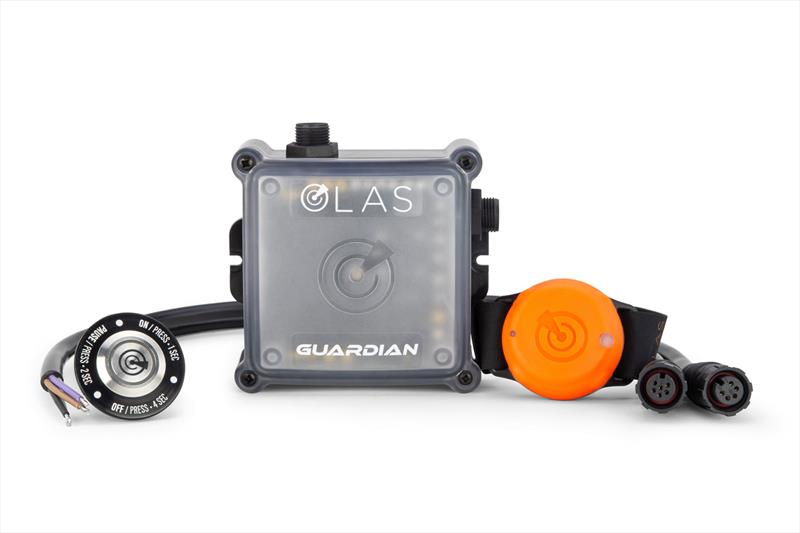 OLAS Guardian with console switch and OLAS Tag - photo © Exposure