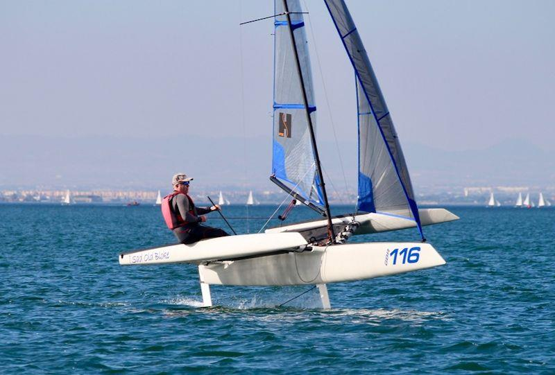 Jerry Hill at the F101 End of season Tribal Gathering at Mar Menor - photo © Foiling World