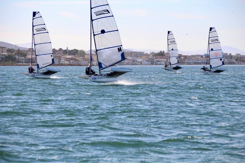 F101 fleet - photo © Foiling World