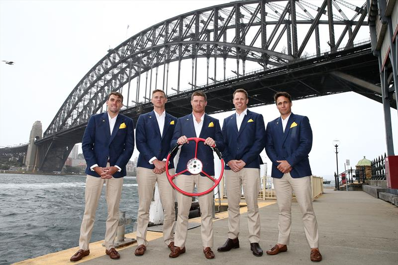 Australia SailGP team during the Sydney launch - photo © Jason McCawley