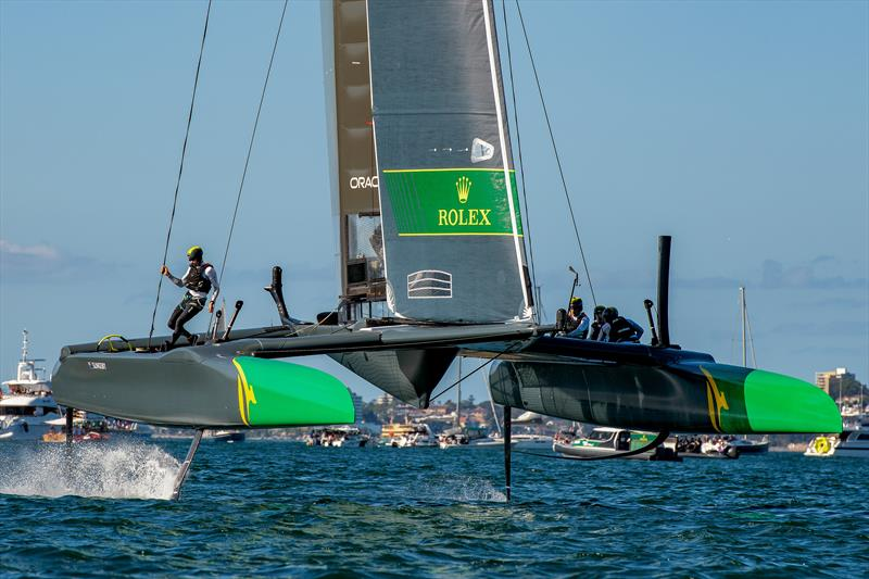 First SailGP event sets Sydney alight