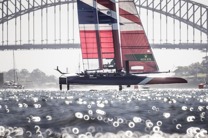 Great Britain team on day 1 of Sydney SailGP - photo © Lloyd Images / SailGP
