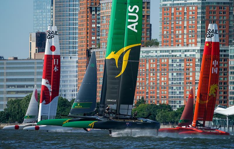 New York SailGP day 1 - photo © Sam Greenfield / SailGP