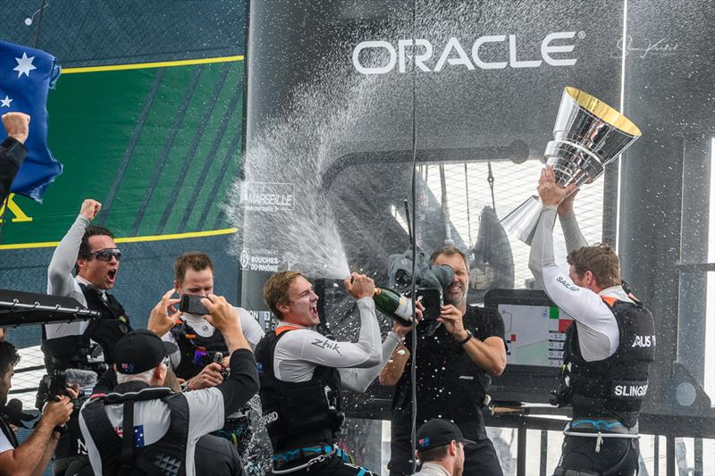 Marseille SailGP Overall: Tom Slingsby wins historic first SailGP Championship for Australia