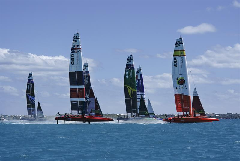 Bermuda SailGP presented by Hamilton Princess - photo © Thomas Lovelock for SailGP