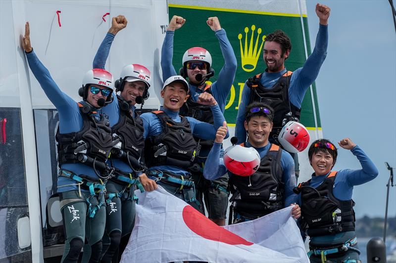 Japan SailGP Team win the Italy Sail Grand Prix in Taranto - photo © Bob Martin for SailGP