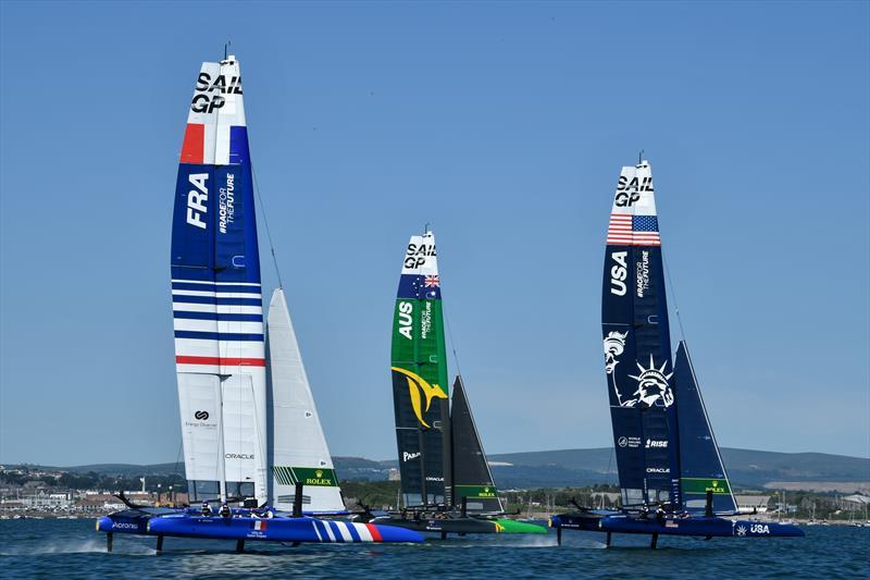 Australian SailGP team win Great Britain SailGP (Event 3, Season 2) in Plymouth - photo © Ricardo Pinto for SailGP