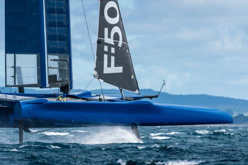 SailGP F50 training off Whangarei, Northland, NZ - photo © SailGP