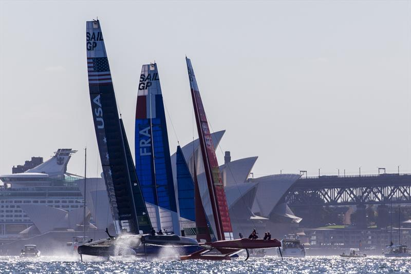 Spectacular racing on the iconic harbour - photo © Andrea Francolini