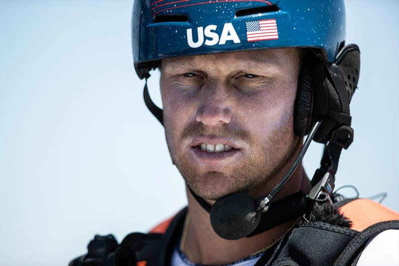 United States SailGP Team helm Rome Kirby. photo copyright SailGP taken at  and featuring the F50 class