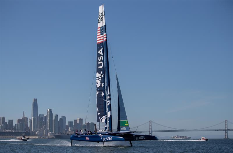 SailGP makes on-water debut in San Francisco Bay ahead of May 4-5 racing