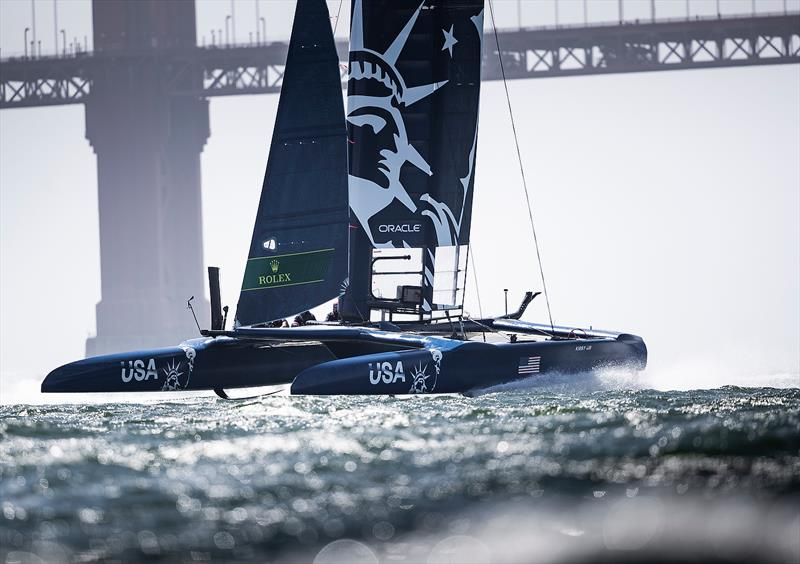 Practice race day, Event 2, Season 1 SailGP event in San Francisco, California, - photo © www.lloydimages.com