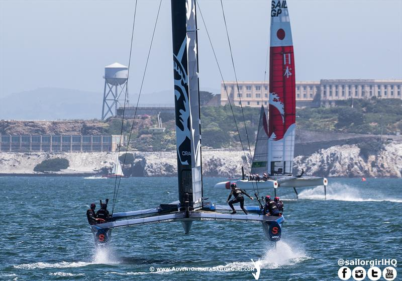 The home team has improved most since SailGP Sydney - photo © Nic Douglass / www.AdventuresofaSailorGirl.com