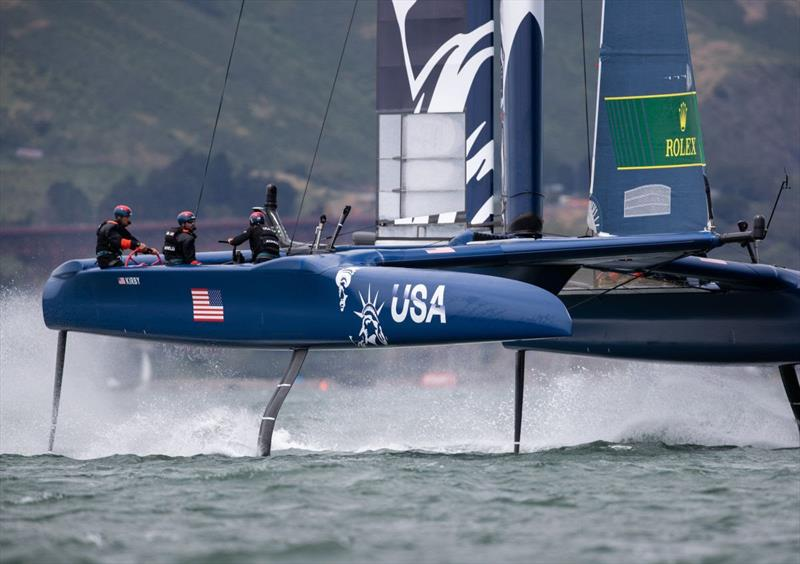 United States SailGP Team at San Francisco SailGP - photo © Matt Knighton for SailGP