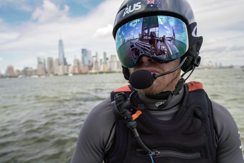 Australia SailGP Skipper Tom Slingsby performs prepares for race day one. Race Day 1 Event 3 Season 1 SailGP event in New York City, New York, United States. 21 June. - photo © Sam Greenfield for SailGP