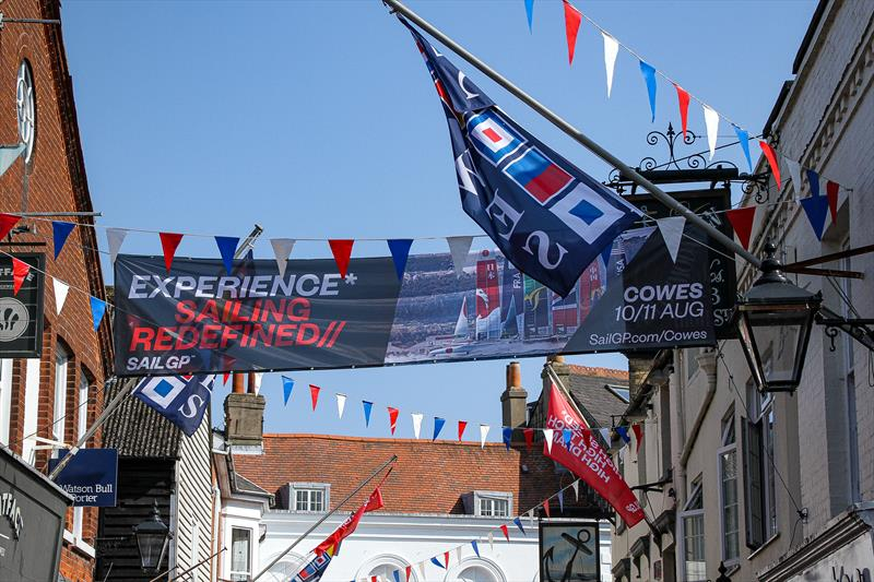 SailGP comes to Cowes, Isle of Wight - August 10-11, 2019 - photo © Richard Gladwell