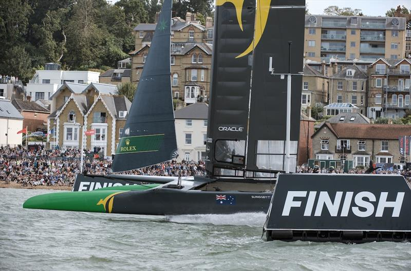 Lessons for AC75's from a gale-swept SailGP Cowes