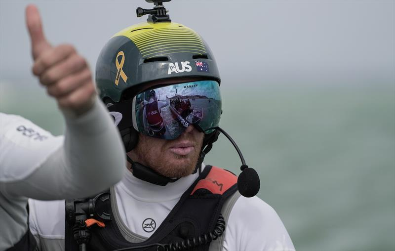 Tom Slingsby - SailGP Cowes, August 10-11, 2019 - photo © Sam Greenfield / SailGP
