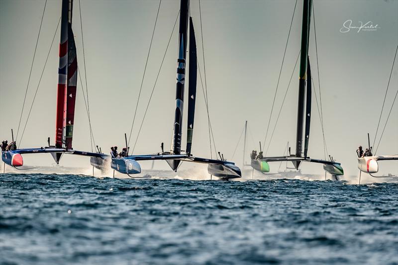 The final SailGP event of Season 1 in Marseille, France - Day 1 - photo © Sam Kurtul / www.worldofthelens.co.uk