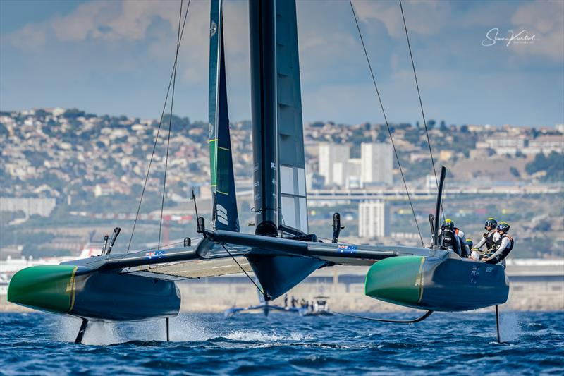 The final SailGP event of Season 1 in Marseille, France - Day 1 - photo © Sam Kurtul / www.worldofthelens.co.uk