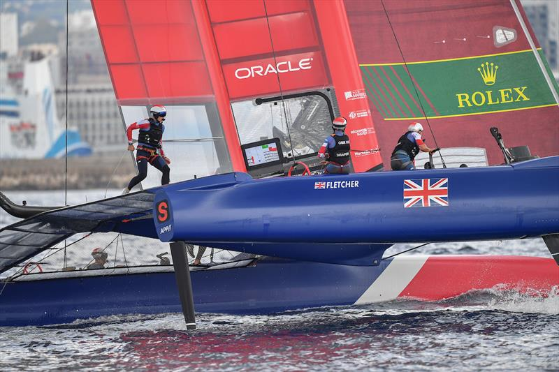 Great Britain SailGP team at Marseille SailGP Season 1 Grand Final  - photo © Lloyd Images for SailGP