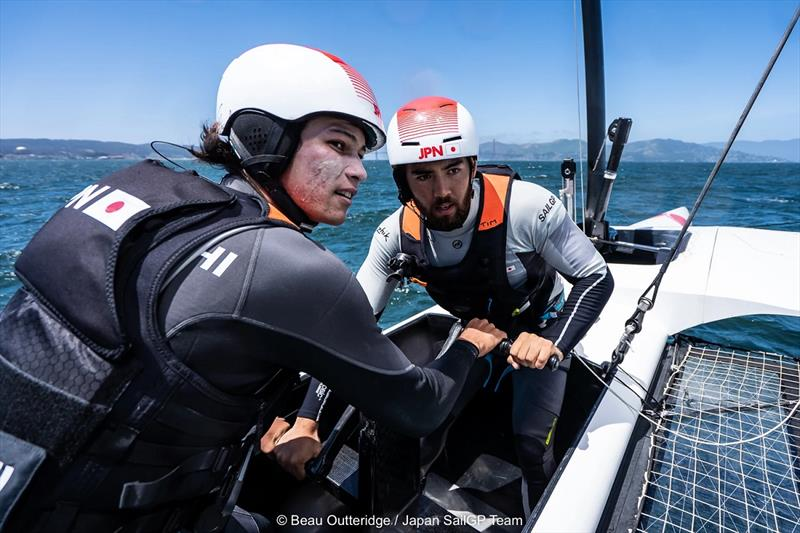 Japan SailGP Team photo copyright Beau Outteridge taken at  and featuring the F50 class