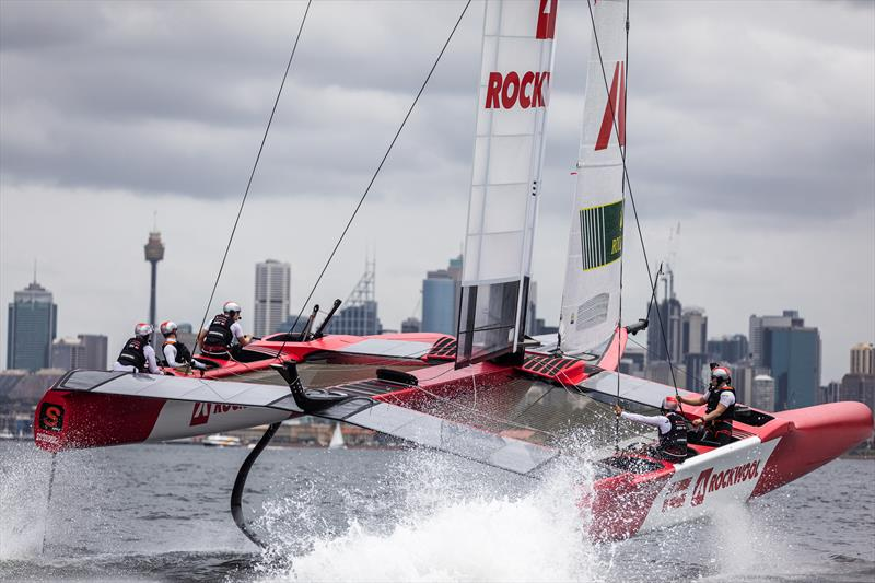 Launch Control - Sydney SailGP, training for Event One on Sydney Harbour of Season Two. - photo © Brian Carlin / SailGP / SailGPDenmark
