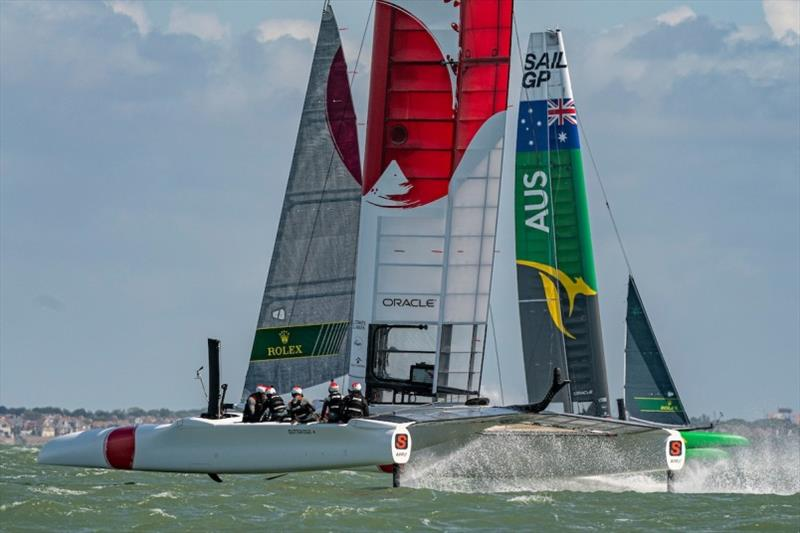 F50 fleet - photo © Chris Cameron for SailGP