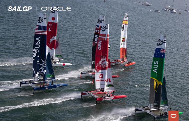 SailGP launches second season with Oracle Cloud Technologies that elevate race performance