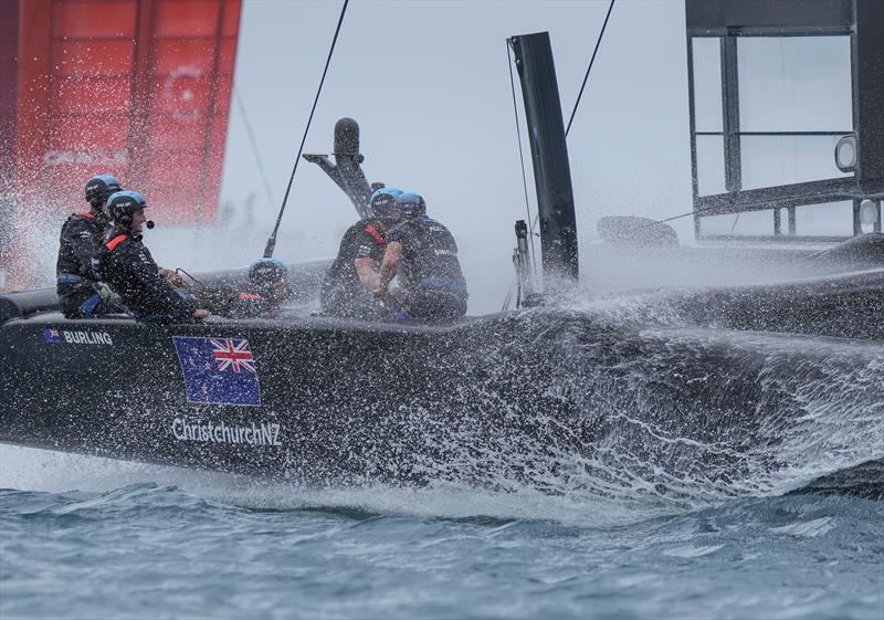 New Zealand SailGP Team in action on Race Day 2 Bermuda SailGP  - photo © Thomas Lovelock/SailGP