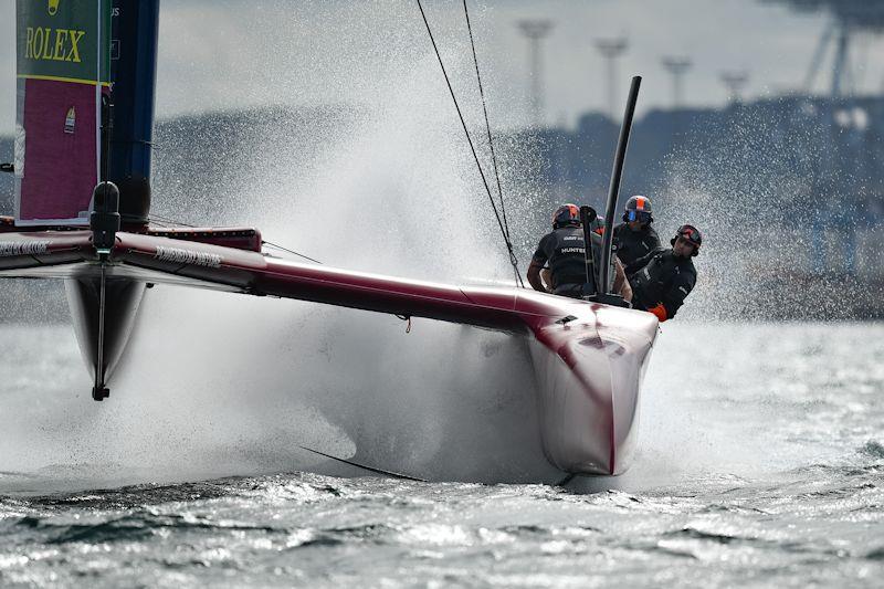Great Britain SailGP Team on day 1 of the ROCKWOOL Denmark Sail Grand Prix - photo © Ricardo Pinto for SailGP