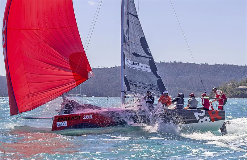 FarEast 28R photo copyright Crosbie Lorimer taken at Whitsunday Sailing Club and featuring the FarEast 28 class