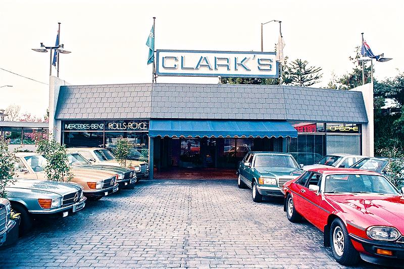 Clarks of Khyber Pass 1985 - all the quality marques. - photo © Peter Montgomery