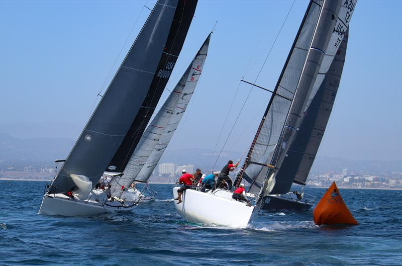 Racecourse action at Cal Race Week - photo © Image courtesy of Joysailing