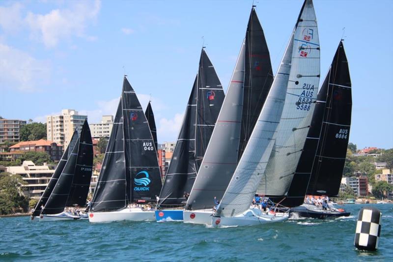 Farr 40 Class commences season with social regatta at Middle Harbour Yacht Club
