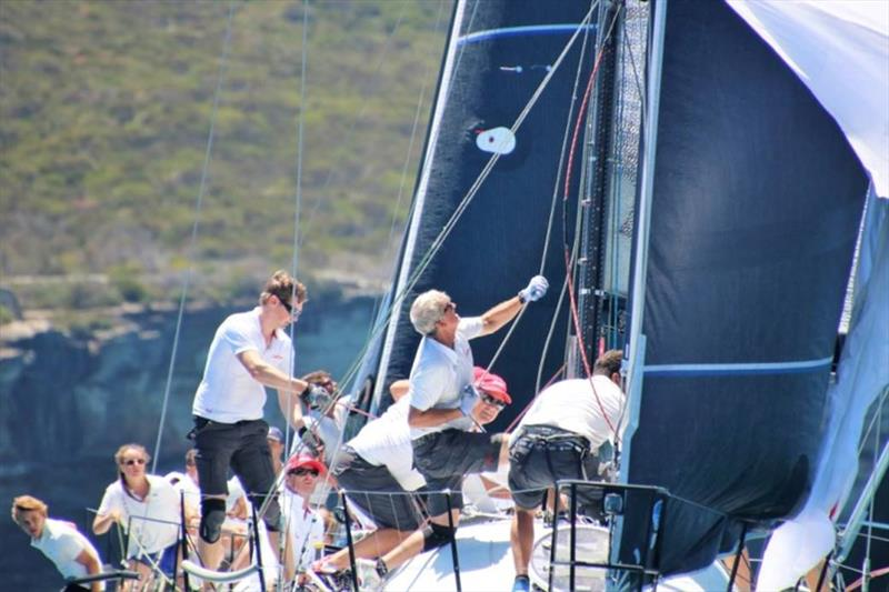 Tim Roberts bossing it at the 2020 NSW State Title - photo © Farr 40 Australia