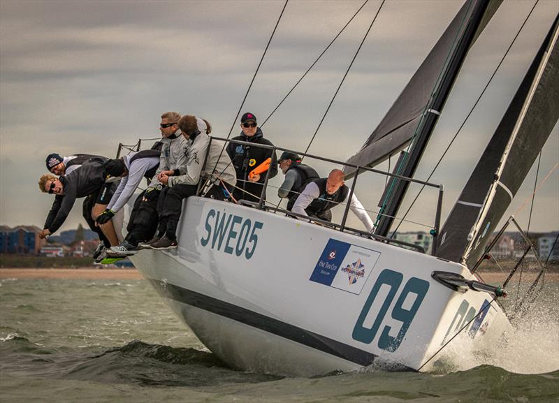 Filip Engelbert's Elvis on day 3 of the 2018 Wight Shipyard One Ton Cup - photo © VR Sport Media