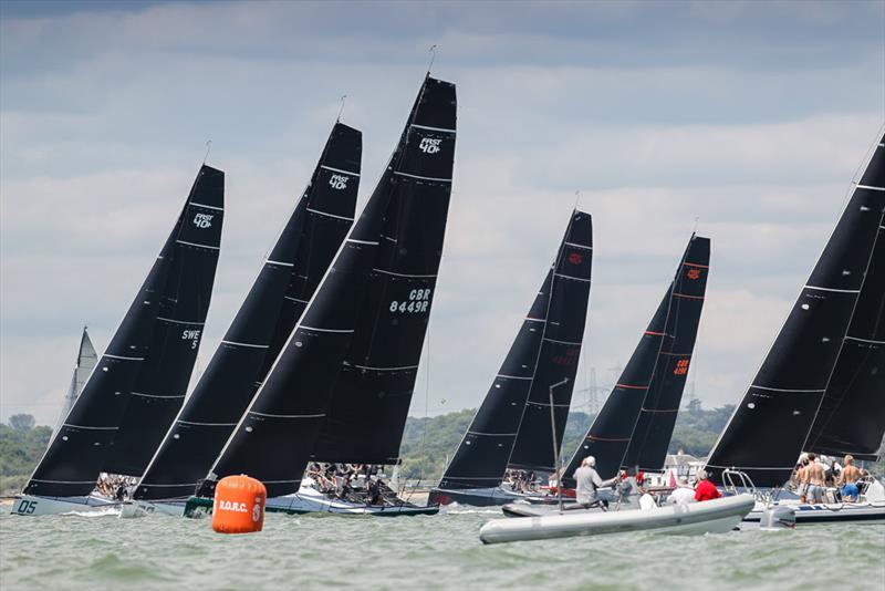 Fast 40 start - IRC National Championship - photo © Paul Wyeth