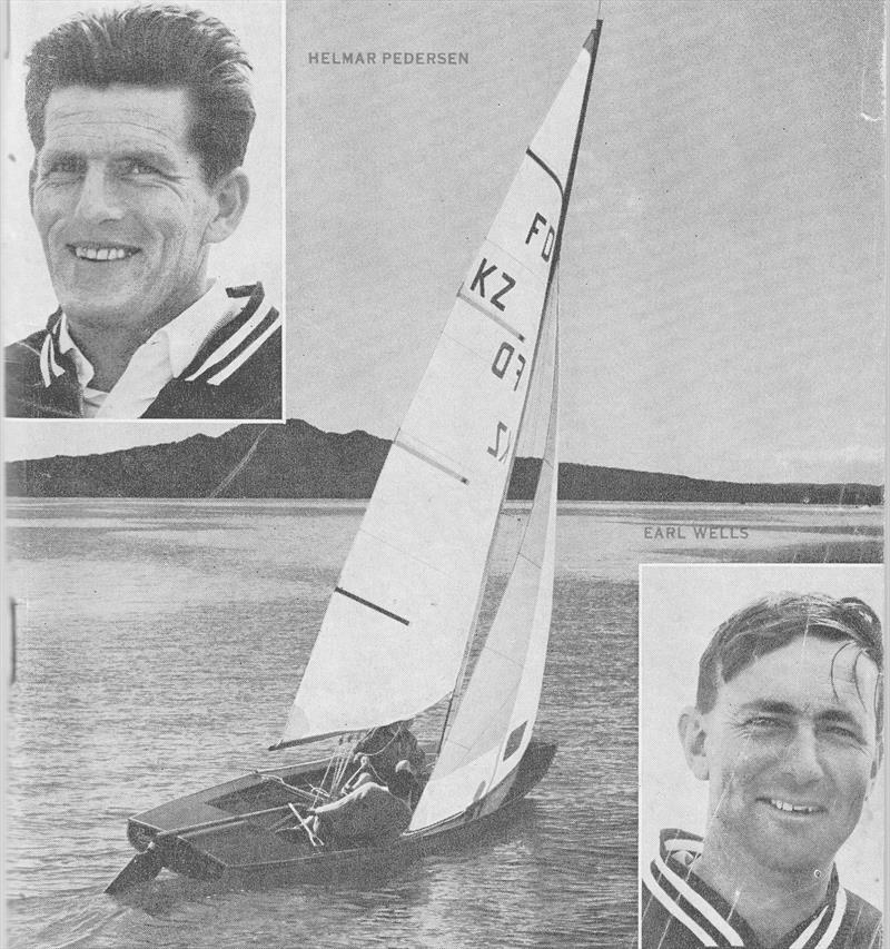 Helmer Pedersen and Earle Wells won New Zealand's second Olympic Sailing Gold Medal at Enoshima in 1964 - photo © Sea Spray