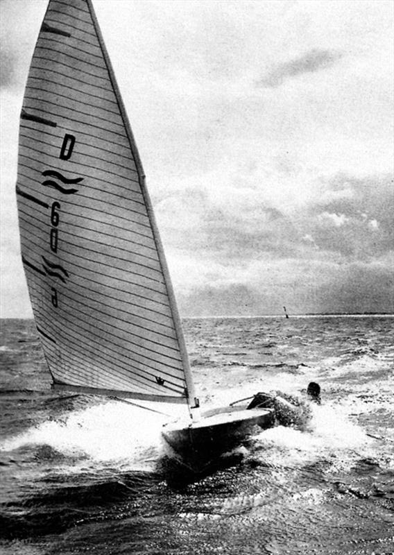 Paul Elvström sailing his Finn photo copyright IFA taken at  and featuring the Finn class