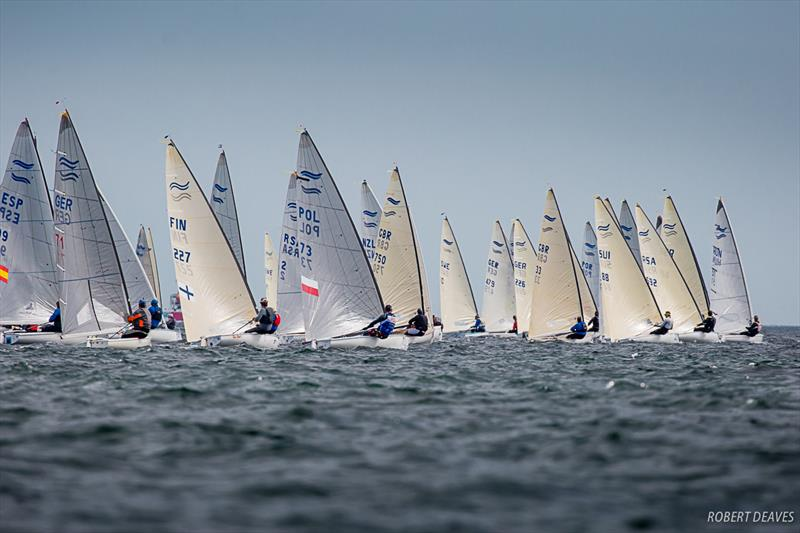 Practice Race at the Finn World Masters in Skovshoved - photo © Robert Deaves