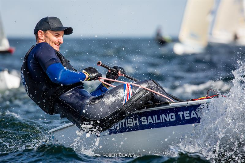 Giles Scott finishes 2nd at the Finn Europeans in Gdynia, Poland - photo © Robert Deaves