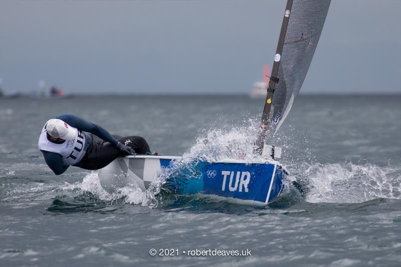 Perfect start for Alican Kaynar as Finns begin racing at Tokyo 2020