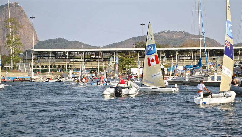 With the possibility of just five classes operating out of the Olympic marina it is doubtful whether Sailing would remain viable as an Olympic Sport. - photo © Richard Gladwell