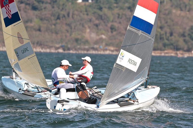 World Sailing's Working Party was dismissive of an event for male sailors weighing 90kg and upwards Rio 2016 Olympic Regatta - photo © Richard Gladwell